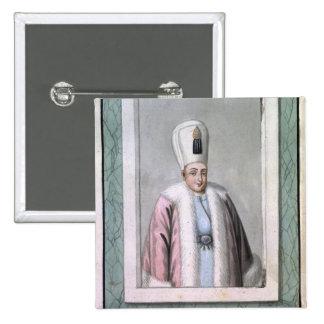 Othman (Osman) II (1603-22) Sultan 1618-22, from ' Pins