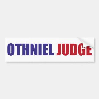Othniel Judge Bumper Stickers