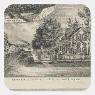 Otis Price Villa, Kansas Square Sticker