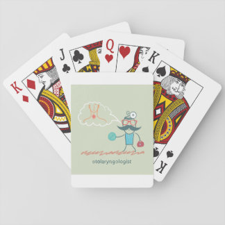 Otolaryngologist Playing Cards