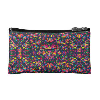 Otomi Pattern Cosmetic Bag