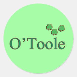 O'Toole Family Round Sticker