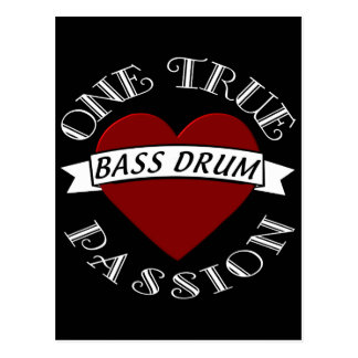 OTP: Bass Drum Postcard