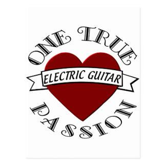 OTP Electric Guitar Postcard