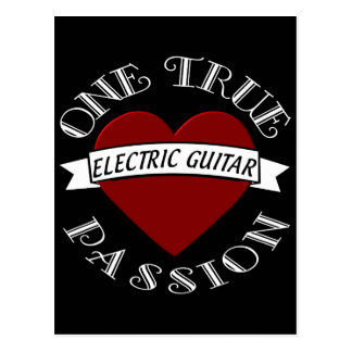 OTP Electric Guitar Post Cards
