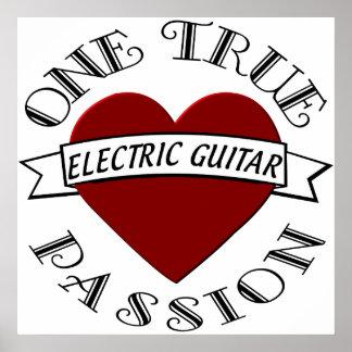 OTP Electric Guitar Print