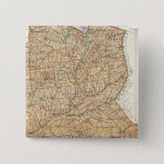 Otsego, Delaware counties 15 Cm Square Badge