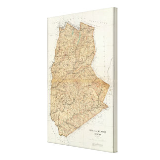 Otsego, Delaware counties Canvas Print