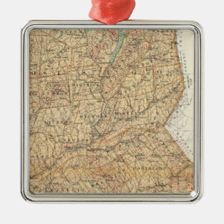 Otsego, Delaware counties Christmas Ornament