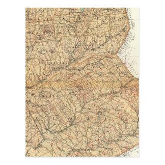 Otsego, Delaware counties Postcard