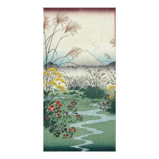Otsuki fields in Kai Province Customized Photo Card