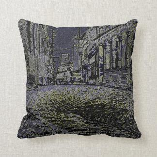 Ottawa Canada 1930's Art Photograph Street scene Cushion