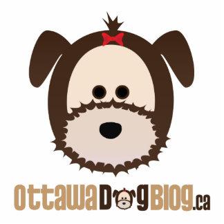 Ottawa Dog Blog Stand Standing Photo Sculpture