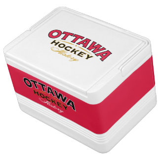 Ottawa Hockey History 12 Can Cooler Igloo Cool Box