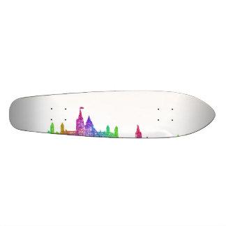 Ottawa skyline 21.6 cm old school skateboard deck