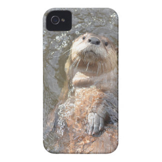 Otter Back Float iPhone 4 Covers
