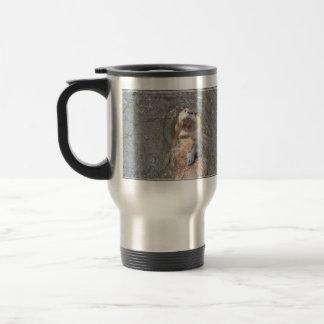 Otter Back Float Stainless Steel Travel Mug