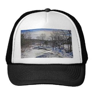 Otter Brook Winter Scene Cap