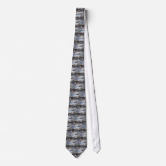 Otter Brook Winter Scene Tie