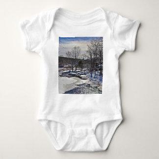 Otter Brook Winter Scene T Shirt