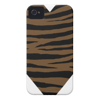 Otter Brown Tiger GH iPhone 4 Case-Mate Cases