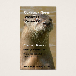 Otter Business Card
