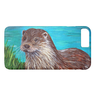 Otter by a River iPhone 8 Plus/7 Plus Case