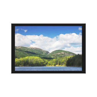 Otter Cove And mountains Acadia National Park Canvas Prints