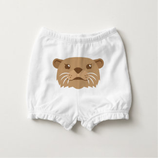 otter face nappy cover