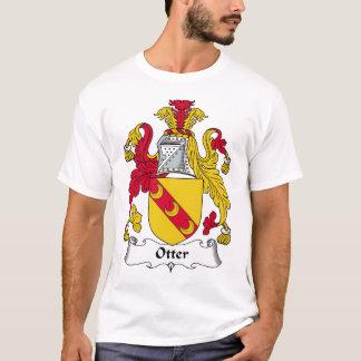 Otter Family Crest T-Shirt