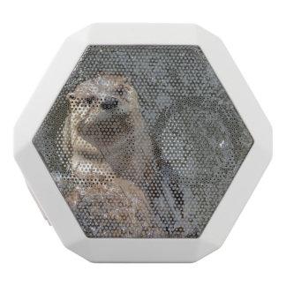 Otter Flip Turns White Boombot Rex Bluetooth Speaker