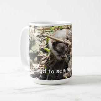 Otter funny coffee mug