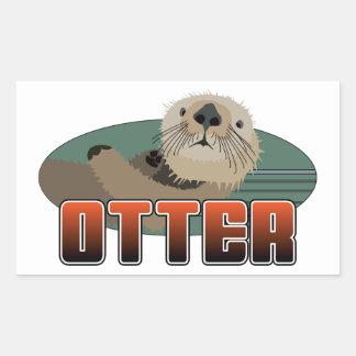 OTTER Gear Rectangular Sticker