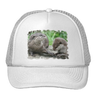 Otter Habitat Baseball Hat