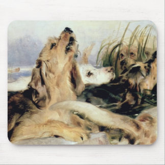 Otter Hounds Mouse Mat