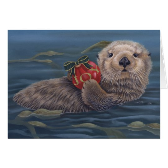 Otter Joy Holiday Card