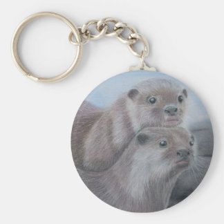 Otter Key Ring Keychain