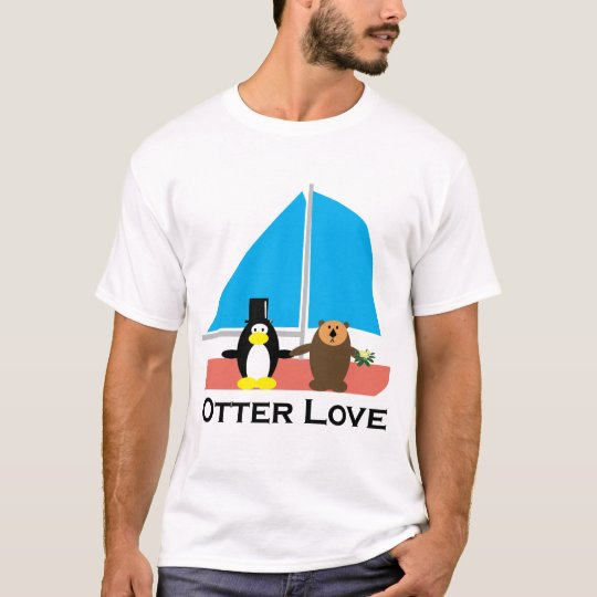 Otter Love wedding T-Shirt