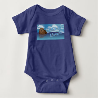 Otter-ly Adorable! Baby Bodysuit