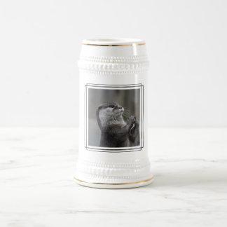 Otter Mastermind Beer Stein 18 Oz Beer Stein
