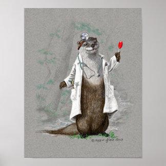 Otter Medicine - Print or Poster