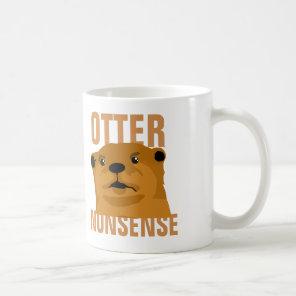 Otter Nonsense Coffee Mug
