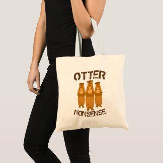 Otter Nonsense II Tote Bag