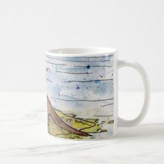 otter of the loch coffee mug
