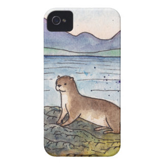 otter of the loch iPhone 4 Case-Mate case