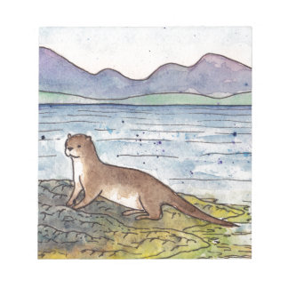 otter of the loch notepad