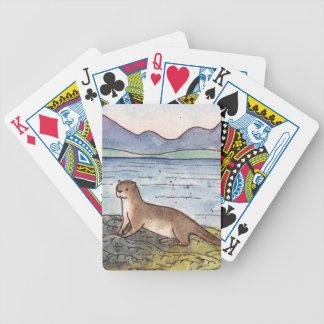 otter of the loch poker deck