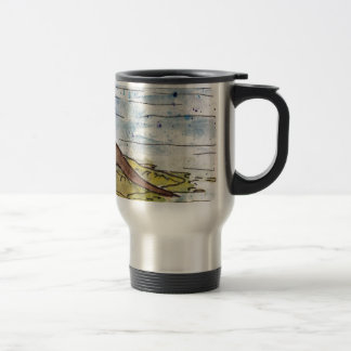 otter of the loch travel mug
