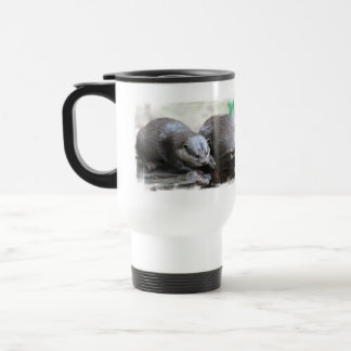 Otter Pair Travel Mug