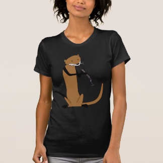 Otter Playing the Clarinet T-Shirt